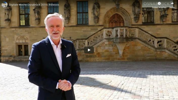 Videogruß von Oberbürgermeister Wolfgang Griesert